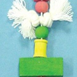 Bird Brainers Ring and Rope Toy 8.5in
