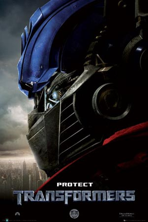 Transformers poster Bay 1