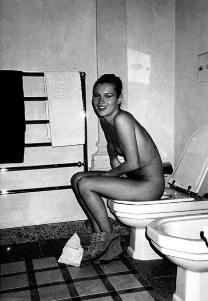 Sorry, that Kate moss toilet