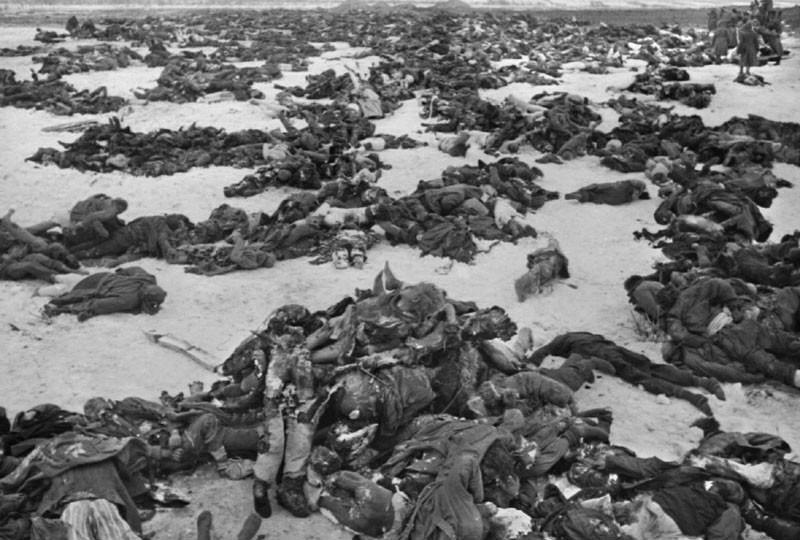 1942-43 Stalingrad dead