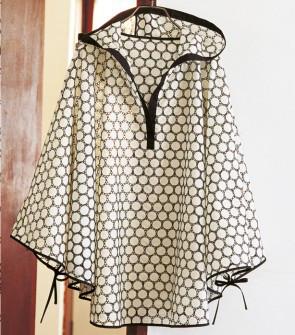 Poncho Capuche Estival Pop Couture