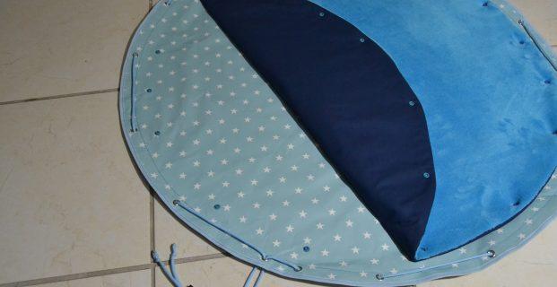 tapis de jeu nomade impermeable et