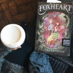 Picture of Foxheart book on a table