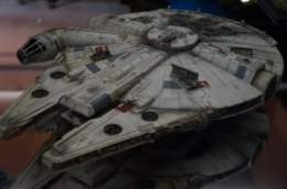 A slightly modified Millennium Falcon