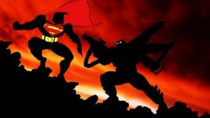 Batman v. Superman from 1986's The Dark Knight Returns