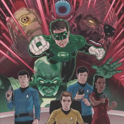Star Trek/Green Lantern: The Spectrum War (cover by Gabriel Rodriguez)