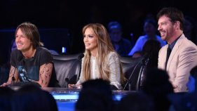 Current judges: Keith Urban, Jennifer Lopez, and Harry Connick Jr.