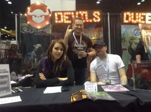Devils Due Publishing: Josh Blaylock, Ashley Witter and Ash Maczko