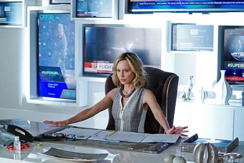 Calista Flockhart as Cat Grant from 'Supergirl'
