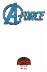 A-Force #1 - Adam Hughes 1 in 50 Variant