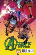 A-Force #1 - Russell Dauterman 1 in 25 Variant