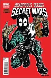 Deadpool's Secret Secret Wars 1 - N. Bradshaw BAM! 2nd & Charles Variant