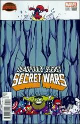 Deadpool's Secret Secret Wars 1 - Skottie Young Variant