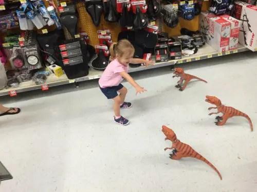 Dino girl 2