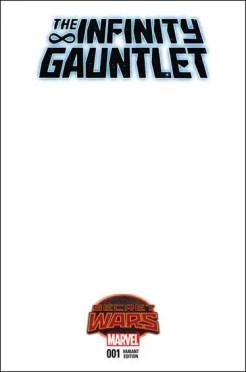 Infinity Gauntlet #1 - Blank Variant