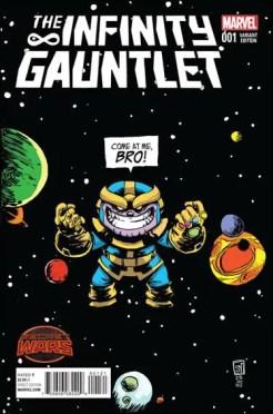 Infinity Gauntlet #1 - Skottie Young Variant