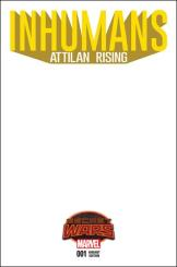 Inhumans Attilan Rising #1 - Blank Variant
