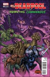 Mrs. Deadpool and the Howling Commandos #1 - Nick Brdshaw 1 in 25 Variant