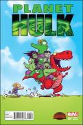 Planet Hulk #1 - Skottie Young Variant