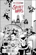 Secret Wars #1 - Chip Zdarsky 1 per Store Party Variant