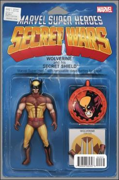 Secret Wars #2 - John Tyler Christopher Action Figure Variant