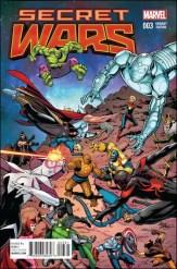 Secret Wars #3 - Bob McLeod 1 in 25 Variant