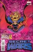 Secret Wars #3 - Nick Bradshaw Doctor Gwenge Variant