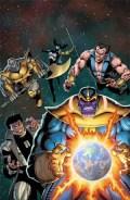 Secret Wars #4 - Jim Starlin Variant