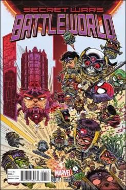 Secret Wars Battleworld #1 - James Stokoe 1 in 25 Variant