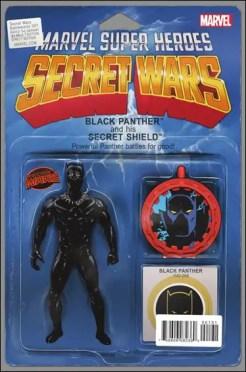 Secret Wars Battleworld #1 - John Tyler Christopher Action Figure Variant
