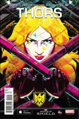 Thors #1 - Delicious Design League 1 in 15 Agents of SHIELD Variant