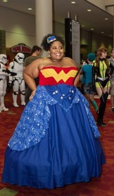 Wonder Woman Ball Gown