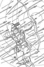DC Green Arrow # 48 by Cully Hamner