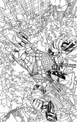 Deathstroke # 14 by Emanuella Luppicino
