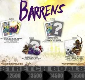 barrens goals