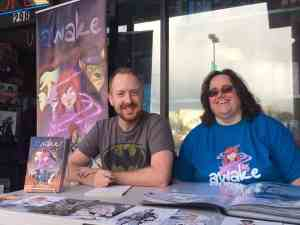 Artist Brian Hess and Writer Susan Beneville
