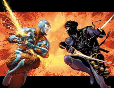 X-O MANOWAR & Ninjak