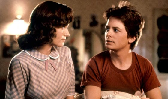 BACK TO THE FUTURE, Lea Thompson, Michael J. Fox, 1985, (c)Universal/courtesy Everett Collection