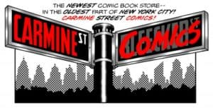 Carmine Comics logo