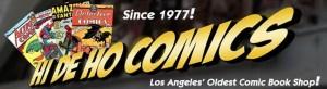 Hi De Ho Comics logo