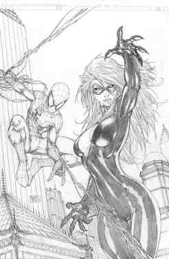 SpiderManBnW