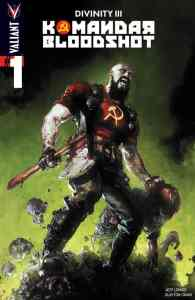 DIVINITY III: KOMANDAR BLOODSHOT #1 – Cover A by Clayton Crain