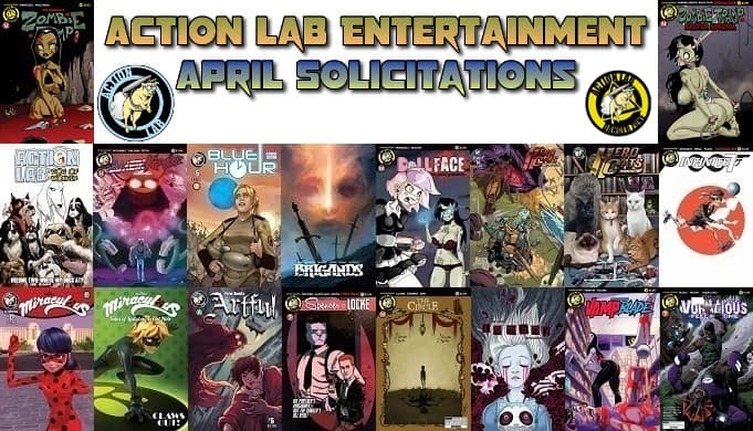 PopCultHQ's First Look: April 2017 Solicitations from Action Lab Entertainment
