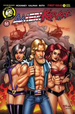 """Cover D - """"Explosive Threesome"""" by Bill McKay"""