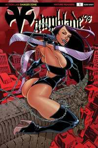 Vampblade 98 Cover C – limited variant (limited to 1500): Pow Rodrix