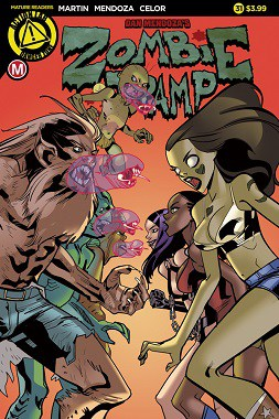 Preview Action Lab: Danger Zone's New Release (1/18): 'ZOMBIE TRAMP' #31