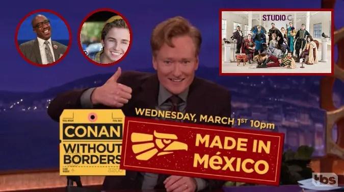 Last Night on CONAN (2/7): JB Smoove | Sean Giambrone | Studio C | #ConanMexico Guest Announcement