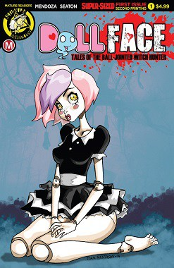 Action Lab: Danger Zone's DOLLFACE by Seaton & Mendoza Have Fans Sprung! Heading Back to Printers