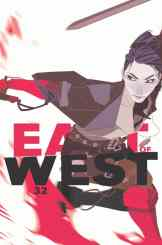 EAST OF WEST #32 by Jonathan Hickman & Nick Dragotta, variant artwork by Meredith McClaren (Diamond Code DEC168668)