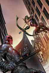 GFT Robyn Hood I Love NY #9 - Cover B by Marc Rosete